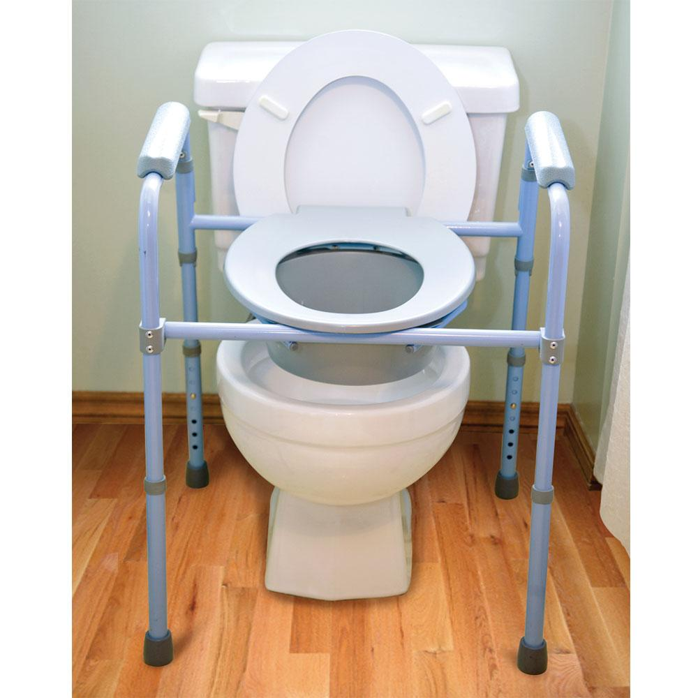 Deluxe Folding Commode   Carex Health Brands B34100   Portable     Deluxe Folding Commode      Deluxe Folding Commode